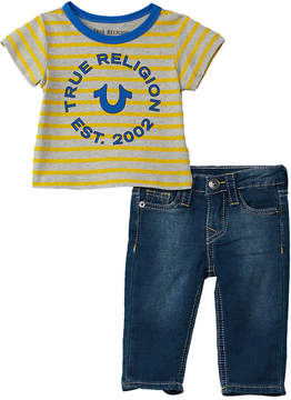 True Religion 2Pc T-Shirt & Pant Set