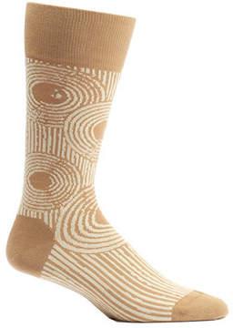 Ozone Men's Sand Ripples Crew Socks