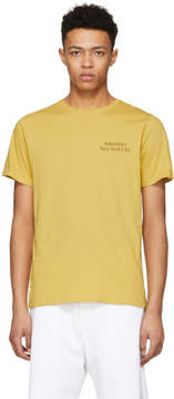 Saturdays NYC Yellow Miller Standard Logo T-Shirt