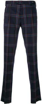 Pt01 checked tailored pants