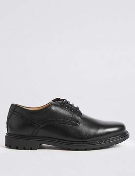 Marks and Spencer Big & Tall Leather Gibson Lace-up Shoes
