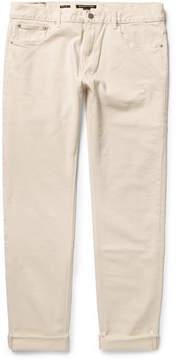 Michael Kors Parker Slim-Fit Selvedge Stretch-Denim Jeans