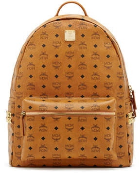 MCM Stark Backpack In Side Studded Visetos