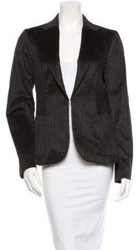 CNC Costume National Velvet Blazer