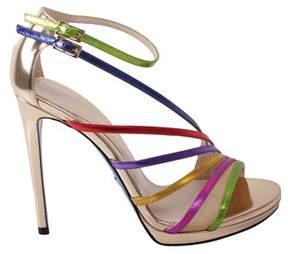 Loriblu Women's Multicolor Leather Sandals.