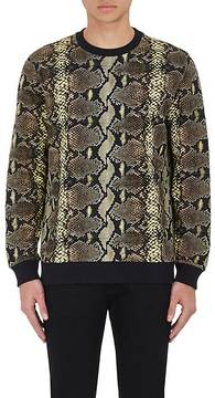 Givenchy GIVENCHY MEN'S PYTHON-PRINT FRENCH TERRY SWEATSHIRT