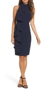 Eliza J Women's Ruffle Sheath Dress