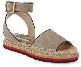 Saks Fifth Avenue Suede Espadrille Sandals