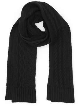 Reiss Maldon Cable-Knit Scarf