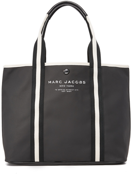 Marc Jacobs Canvas Shopper - MIDNIGHT BLUE - STYLE