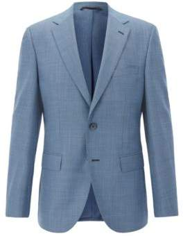 BOSS Hugo Italian Wool Sport Coat, Regular Fit Jewels 46R Turquoise