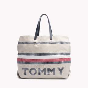 Tommy Hilfiger Woven Convertible Tote