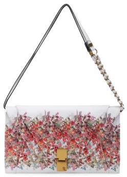 Elliott Lucca Cordoba Floral Textured Shoulder Bag