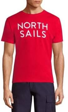 North Sails Logo Printed Tee