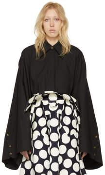Awake Black Kimono Sleeve Shirt