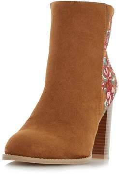 Head Over Heels *Head Over Heels By Dune Tan Paradisea Ladies Ankle Boots