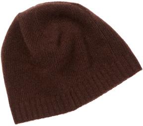 Portolano Men's Chocolate Cashmere Hat