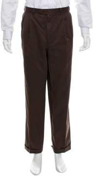 Luciano Barbera Cashmere-Blend Cropped Pants