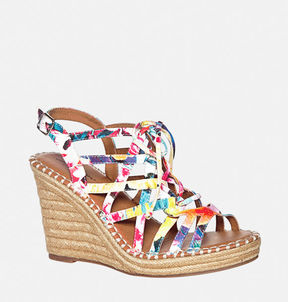 Avenue Melody Lace-Up Wedge