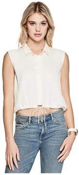 GUESS Sophia Cropped Shirt