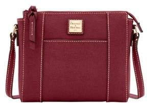 Dooney & Bourke Saffiano Lexington Crossbody Shoulder Bag - BORDEAUX - STYLE
