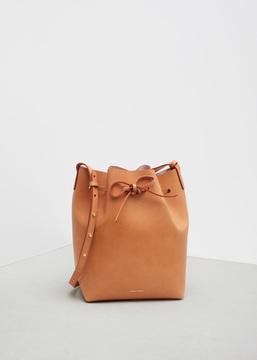 Mansur Gavriel cammello / rosa bucket bag