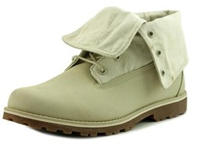 Timberland Auth Folddown Round Toe Leather Winter Boot.