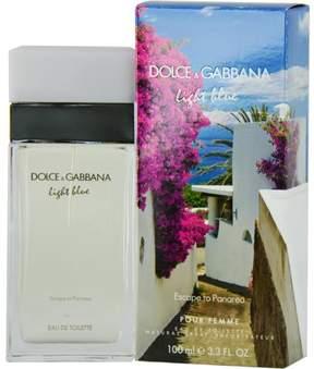D & G Light Blue Escape To Panarea by Dolce & Gabbana - Eau de Toilette Spray for Women 3.4 oz.