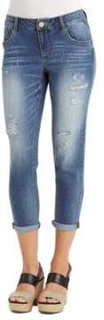 Democracy Faded Distressed Jeans
