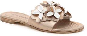 Kennel + Schmenger Kennel Schmenger Women's Schmenger Floral Leather Flat Sandal