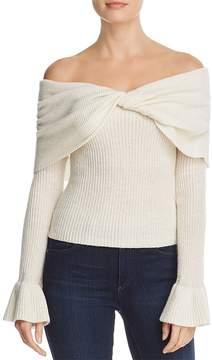 Ella Moss Jasina Off-the-Shoulder Sweater