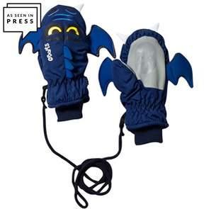 Barts Navy Bat Mittens