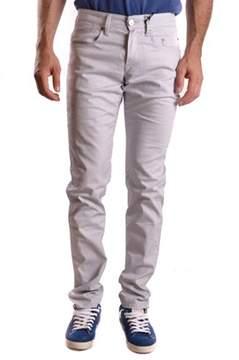Siviglia Men's Grey Cotton Jeans.