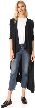 Enza Costa Ribbed Duster Cardigan