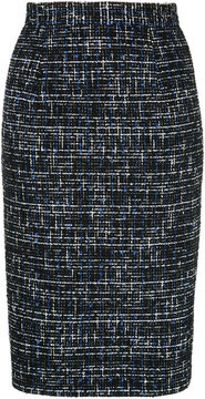 ESTNATION tweed midi skirt