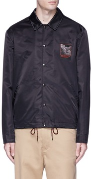 Alexander Wang 'Slow and Steady' print padded coach jacket