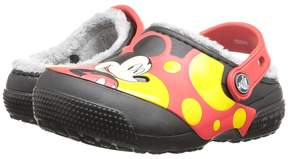 Crocs FunLab Lined Mickey Clog (Toddler/Little Kid)
