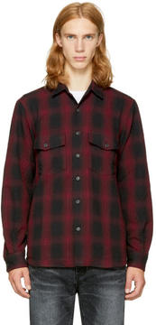 Marcelo Burlon County of Milan Red Iamens Shirt
