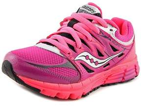 Saucony Zealot Round Toe Synthetic Running Shoe.
