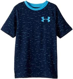 Under Armour Kids Cotton Knit Short Sleeve Boy's T Shirt