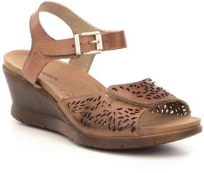 Romika Nevis 05 Cutout Banded Leather Sandals