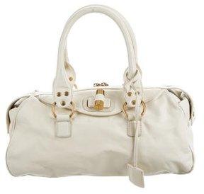 Saint Laurent Muse Bowler Bag - WHITE - STYLE