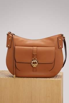 Salvatore Ferragamo Fiona leather crossbody bag