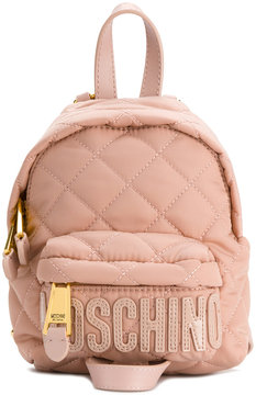 Moschino mini quilted backpack