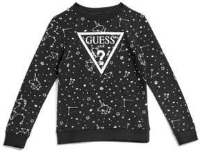 GUESS Girl's Constellation Logo Sweater (7-16)