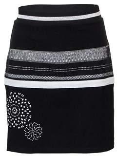 Desigual Women's 18wwfk07black Black Polyester Skirt.