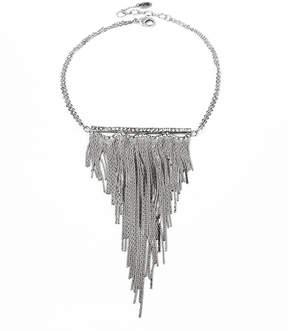 Amrita Singh Austrian Crystal & Silvertone Fringe-Accent Statement Necklace