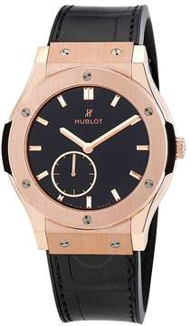 Hublot Classic Fusion Classico Ultra Thin18k Rose Gold Hand Wound 42mm Men's Watch