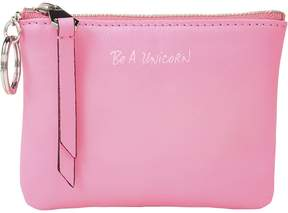Rebecca Minkoff Betty Pouch - Be A Unicorn Travel Pouch - NEON PINK - STYLE