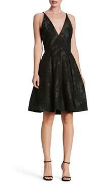 Dress the Population Women's Collette Fit & Flare Dress